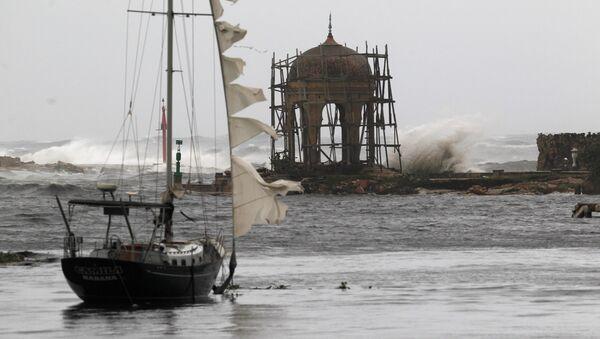 El huracán Irma en La Habana - Sputnik Mundo