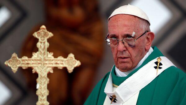 El papa Francisco en Cartagena - Sputnik Mundo