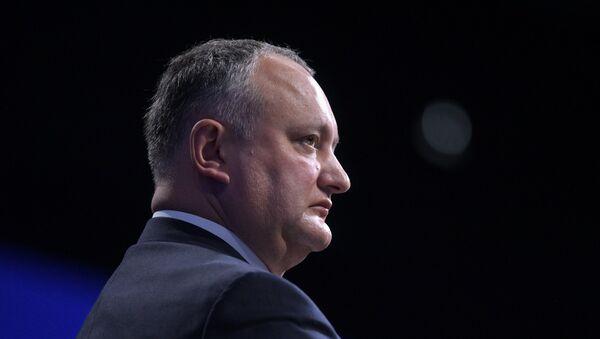 Igor Dodon, presidente de Moldavia - Sputnik Mundo