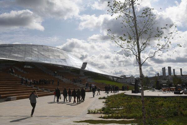 La apertura del parque Zariadie al lado del Kremlin moscovita - Sputnik Mundo