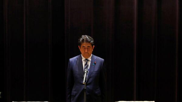 Shinzo Abe, ex primer ministro de Japón - Sputnik Mundo