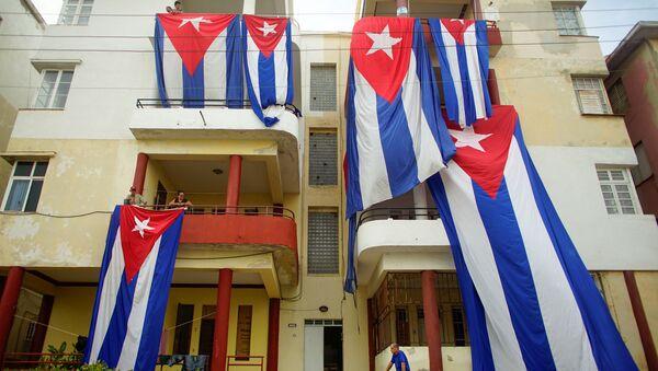 Las banderas de Cuba - Sputnik Mundo