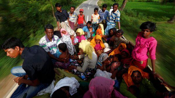 Refugiados rohinyás en Bangladés (archivo) - Sputnik Mundo
