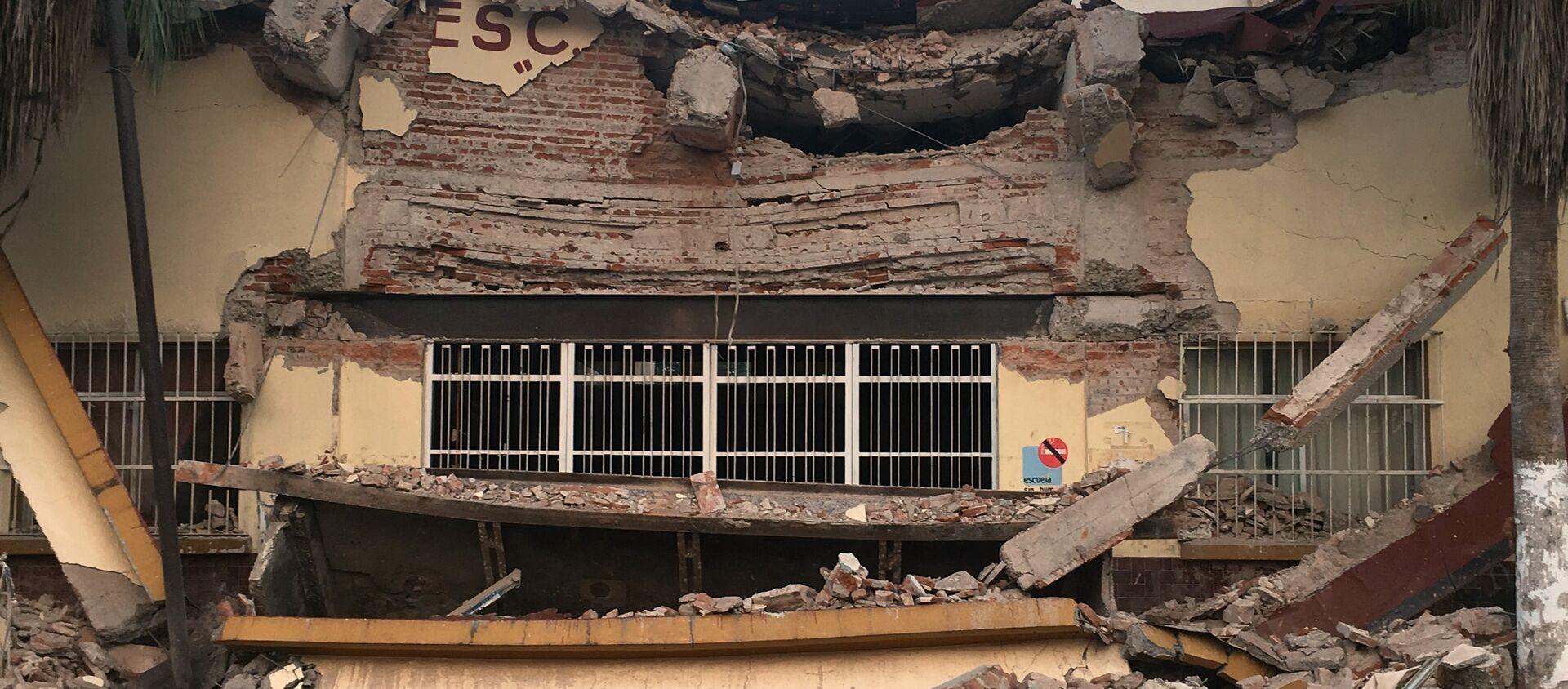 Consecuencias del terremoto en México - Sputnik Mundo, 1920, 13.09.2017