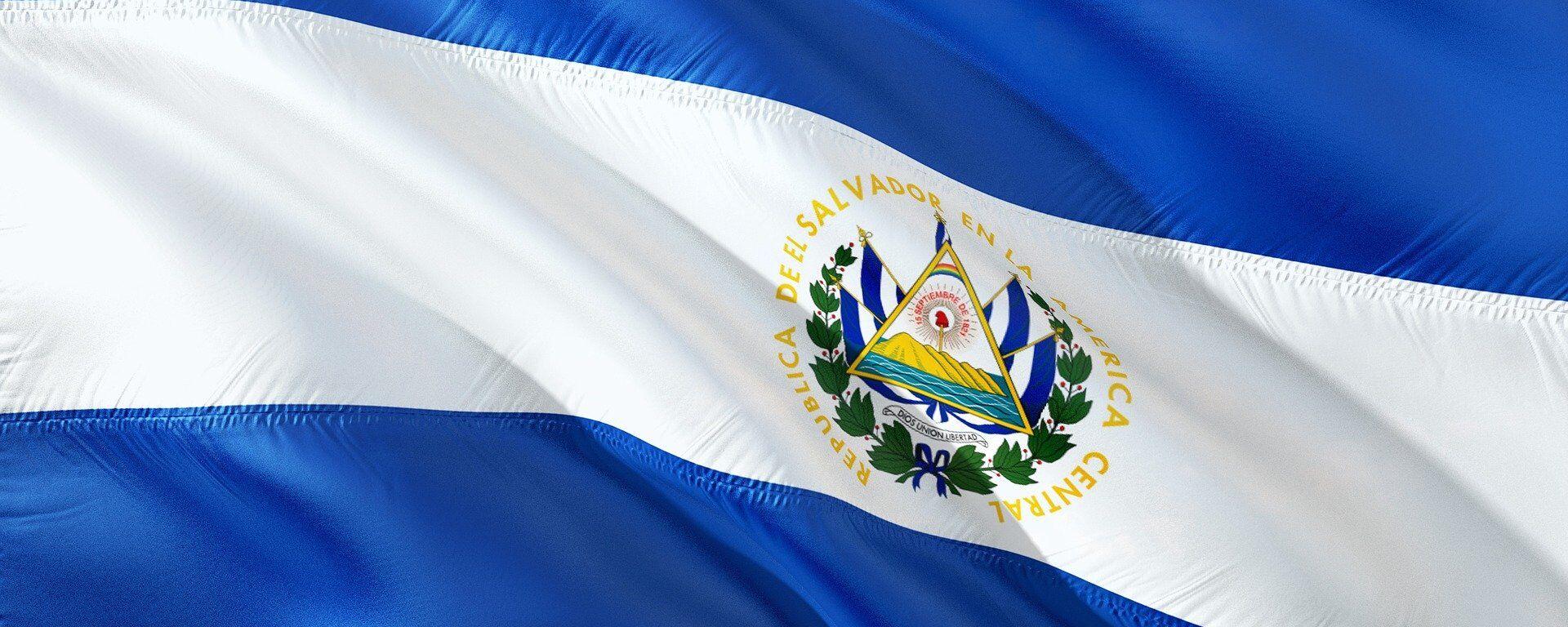 Bandera de El Salvador - Sputnik Mundo, 1920, 30.01.2021