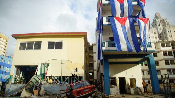 Consecuencias del huracán Irma en La Habana, Cuba (archivo) - Sputnik Mundo