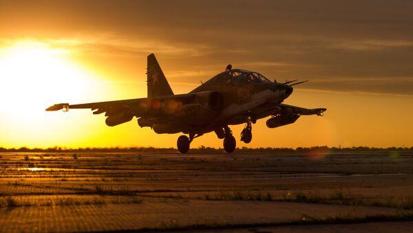 Su-25SM3, avión ruso de ataque a tierra - Sputnik Mundo