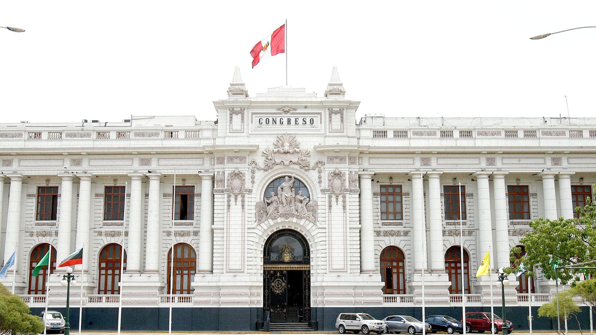 Congreso de la República del Perú - Sputnik Mundo, 1920, 12.10.2021