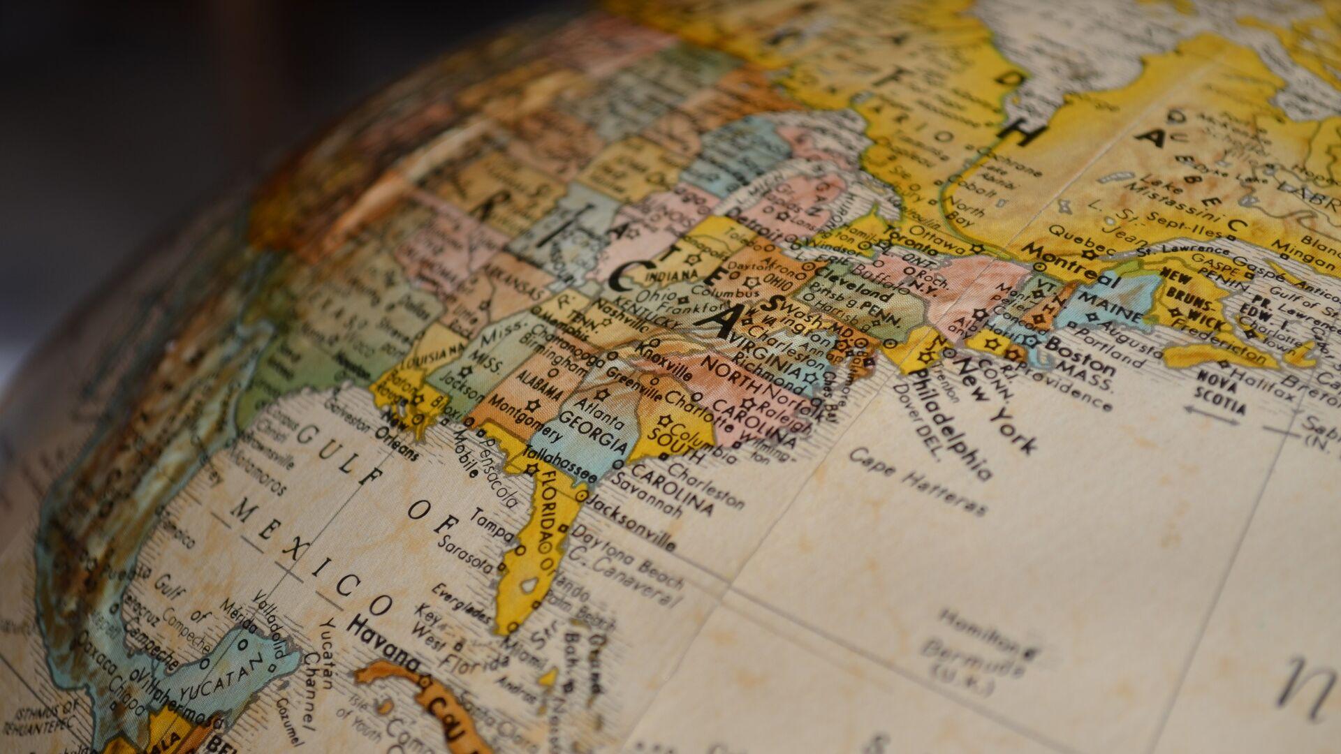 El mapa de EEUU (imagen referencial) - Sputnik Mundo, 1920, 23.07.2021