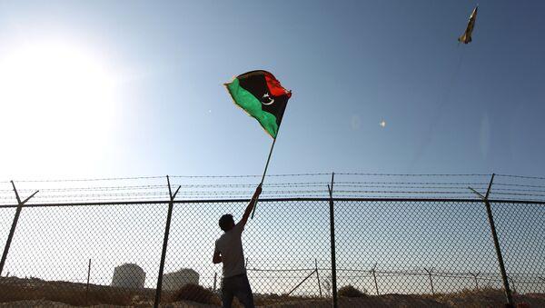 Bandera de Libia - Sputnik Mundo