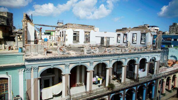 Consecuencias del huracán Irma en La Habana, Cuba - Sputnik Mundo