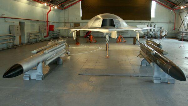 Un dron de la aeronáutica rusa MiG (archivo) - Sputnik Mundo
