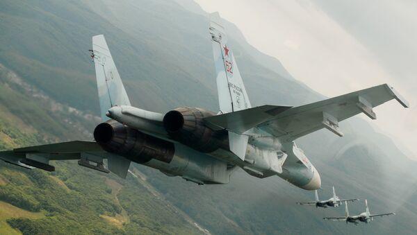 Los cazas polivalentes rusos Su-27 - Sputnik Mundo
