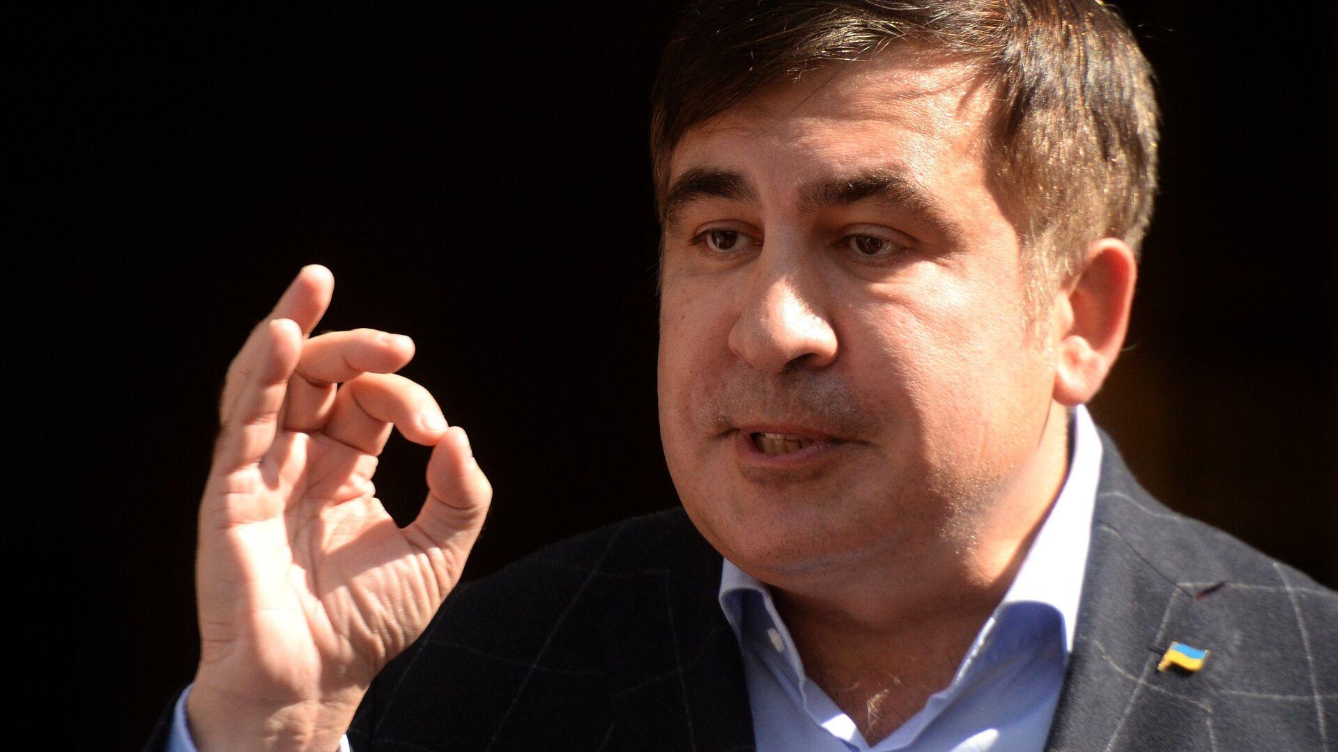 Mijaíl Saakashvili, expresidente de Georgia - Sputnik Mundo, 1920, 04.10.2021