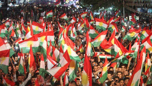 Partidarios del referéndum en el Kurdistán iraquí (archivo) - Sputnik Mundo