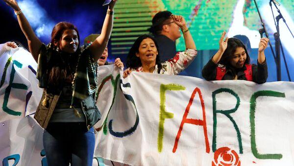 Partidarios de las FARC - Sputnik Mundo