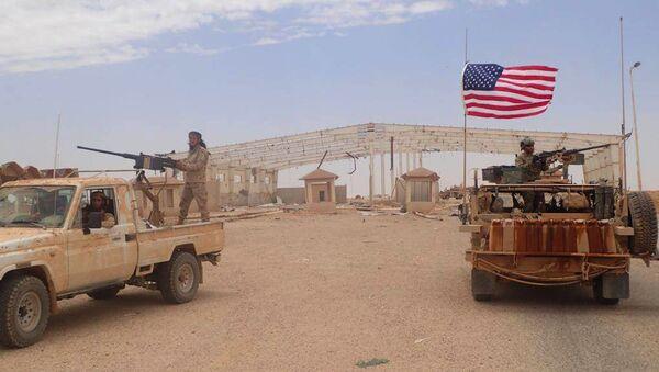 Soldados de EEUU en Siria (archivo) - Sputnik Mundo