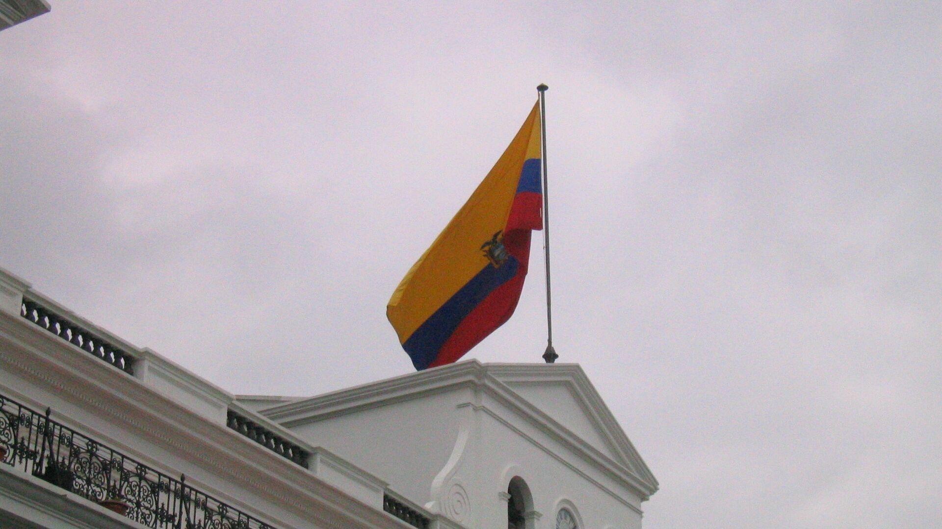 Bandera de Ecuador - Sputnik Mundo, 1920, 12.08.2021