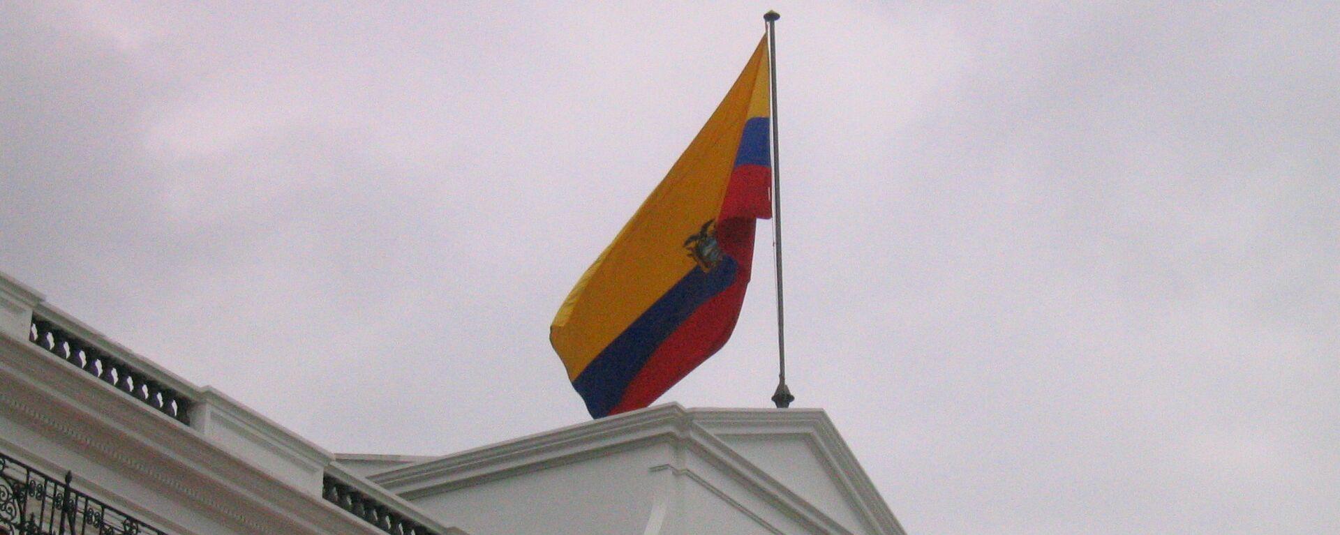 Bandera de Ecuador - Sputnik Mundo, 1920, 17.08.2021