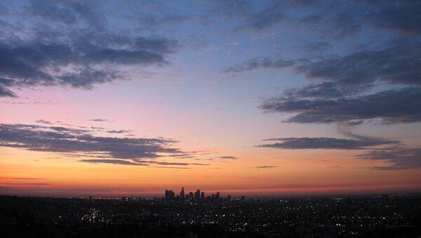 El cielo de Los Ángeles - Sputnik Mundo