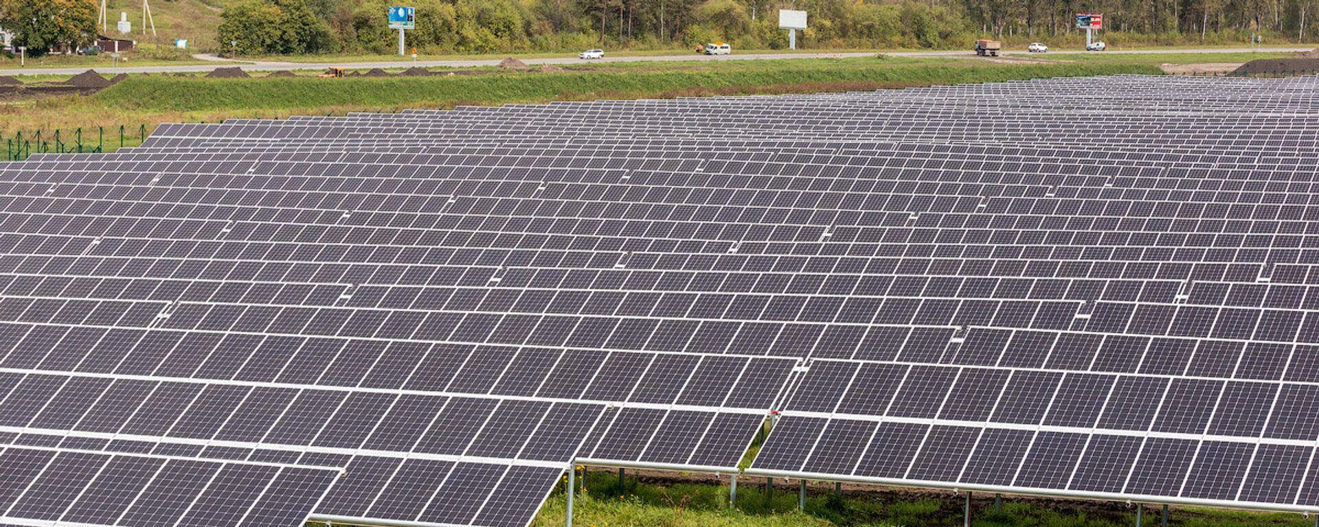 La primera central solar eléctrica de nueva generación en la República de Altái, en Rusia - Sputnik Mundo, 1920, 29.04.2021
