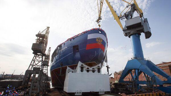 Sibir, el segundo rompehielos del Proyecto 22220 - Sputnik Mundo
