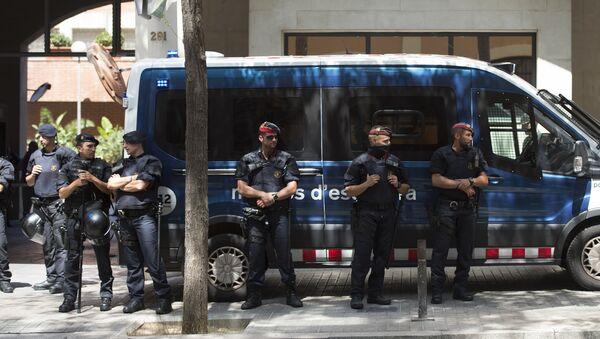 Mossos d'Esquadra, la policía autonómica catalana (archivo) - Sputnik Mundo