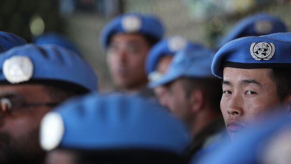 Cascos azules de la ONU (archivo) - Sputnik Mundo