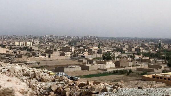 La situación en deir Ezzor, Siria (archivo) - Sputnik Mundo