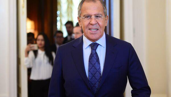 El canciller ruso Serguéi Lavrov (archivo) - Sputnik Mundo