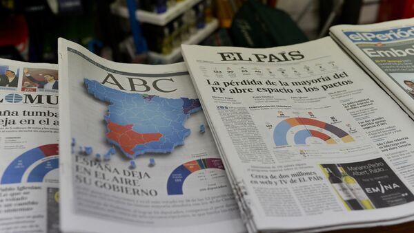 Periódico El País - Sputnik Mundo