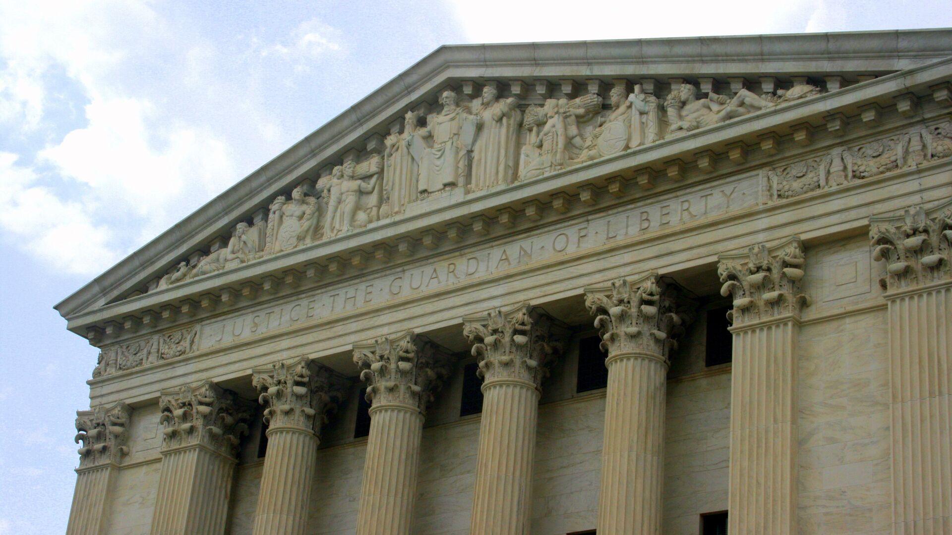 Corte Suprema de EEUU en Washington (imagen referencial) - Sputnik Mundo, 1920, 25.08.2021