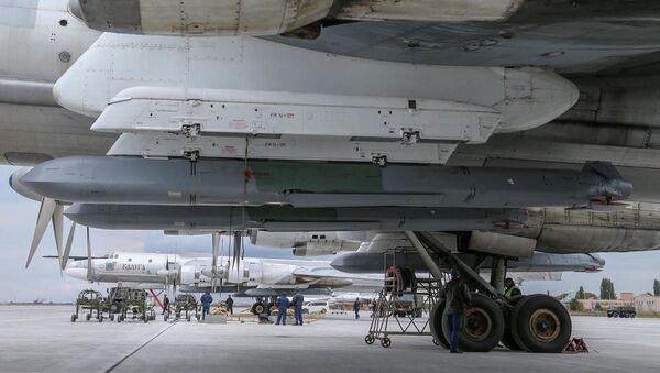 Dos portamisiles estratégicos Tu-95MS - Sputnik Mundo