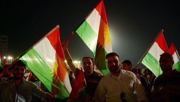 Partidarios de la independencia de Kurdistán - Sputnik Mundo