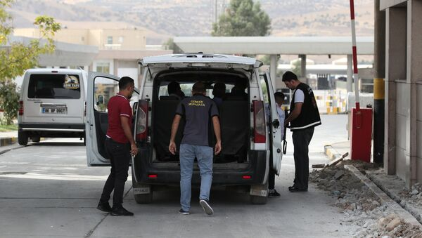 Puesto de control en la frontera entre Turquía y Irak - Sputnik Mundo
