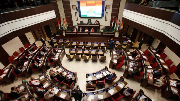 El Parlamento del Kurdistán iraquí en Erbil (archivo) - Sputnik Mundo