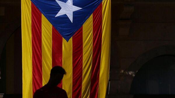 Bandera independentista de Cataluña - Sputnik Mundo