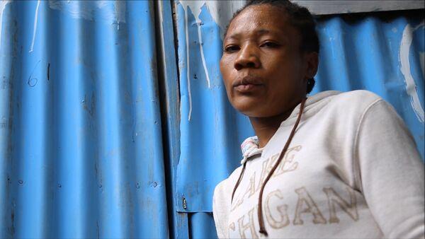 Fabiana, una víctima de acoso sexual en Haití - Sputnik Mundo