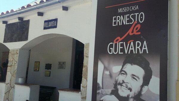 Fachada de la antigua casa de Ernesto Che Guevara en Alta Gracia, el primer museo en su homenaje en Argentina - Sputnik Mundo