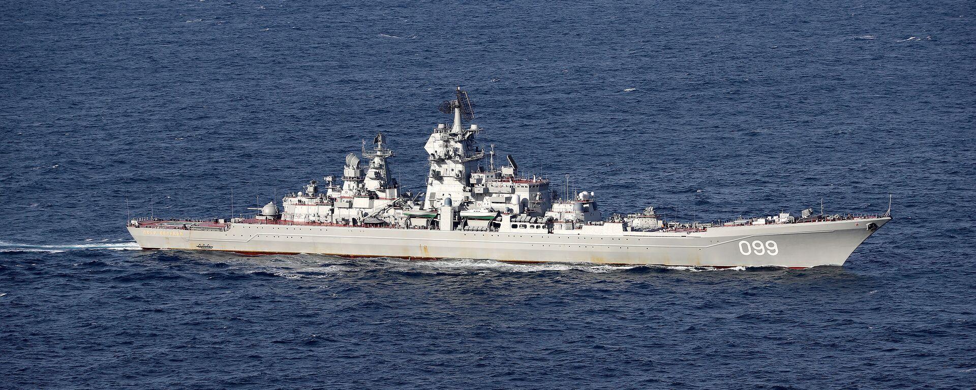 Un buque militar ruso (imagen referencial) - Sputnik Mundo, 1920, 25.06.2021