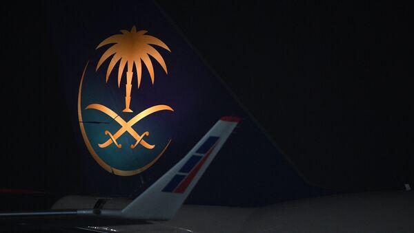 El avión del rey de Arabia Saudí, Salman bin Abdulaziz Saud, llega a Rusia - Sputnik Mundo