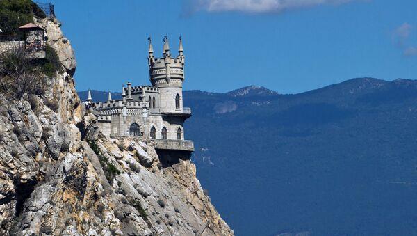 El castillo Nido de golondrina en Crimea (archivo) - Sputnik Mundo