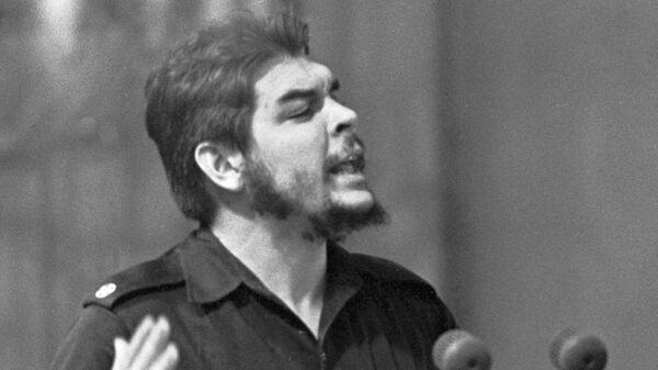 Che Guevara en Moscú en 1960 - Sputnik Mundo