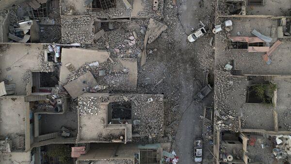 Edificios destruidos en Mosul - Sputnik Mundo