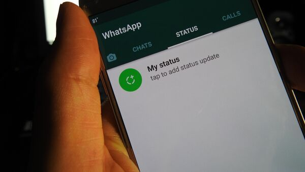 Servicio de mensajería instantánea WhatsApp - Sputnik Mundo