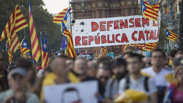 El referéndum en Cataluña (archivo) - Sputnik Mundo