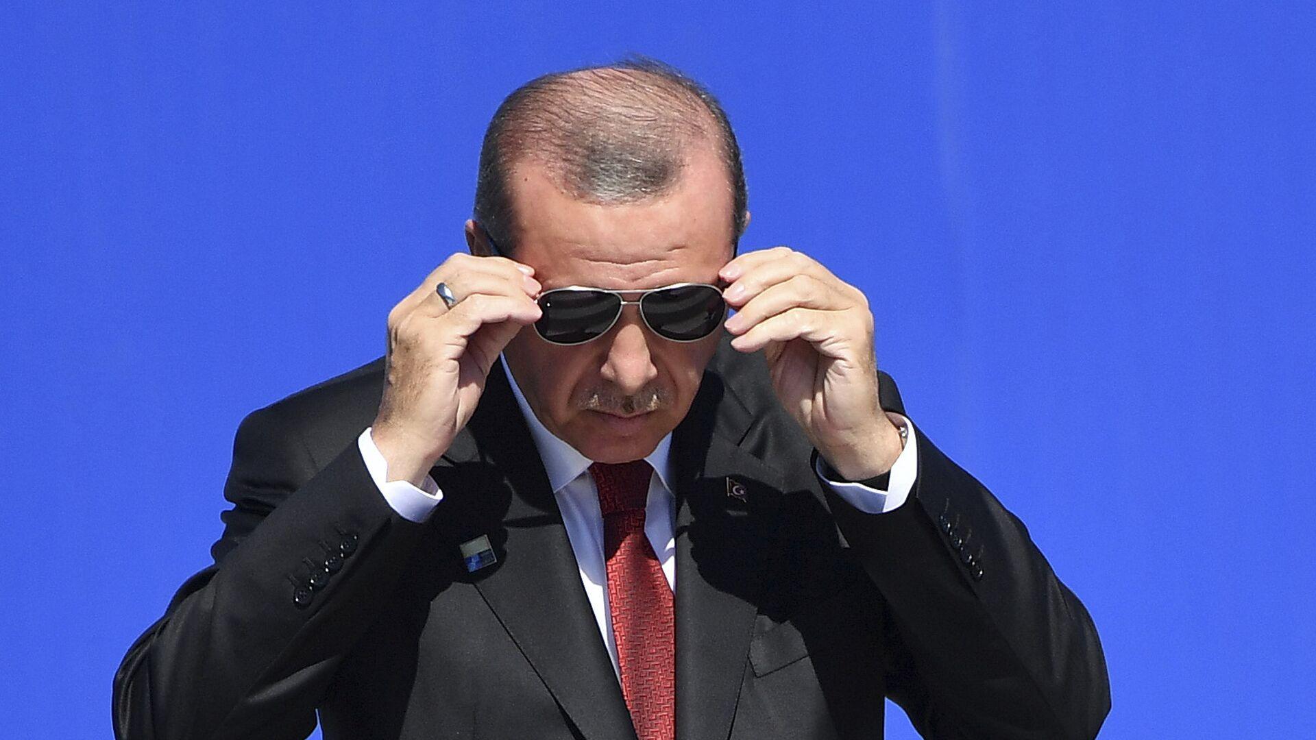 Recep Tayyip Erdogan, presidente de Turquía - Sputnik Mundo, 1920, 22.09.2021