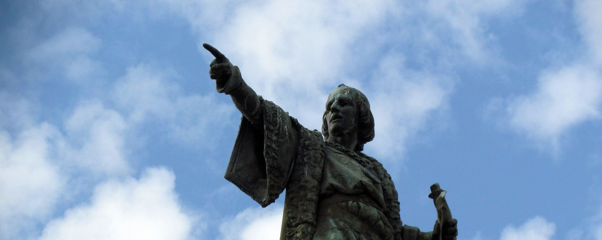 El monumento de Cristóbal Colón en Barcelona, España - Sputnik Mundo, 1920, 12.10.2020