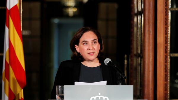 a alcaldesa de Barcelona, Ada Colau - Sputnik Mundo