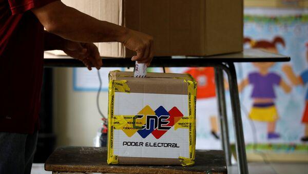 Las elecciones regionales en Venezuela (archivo) - Sputnik Mundo